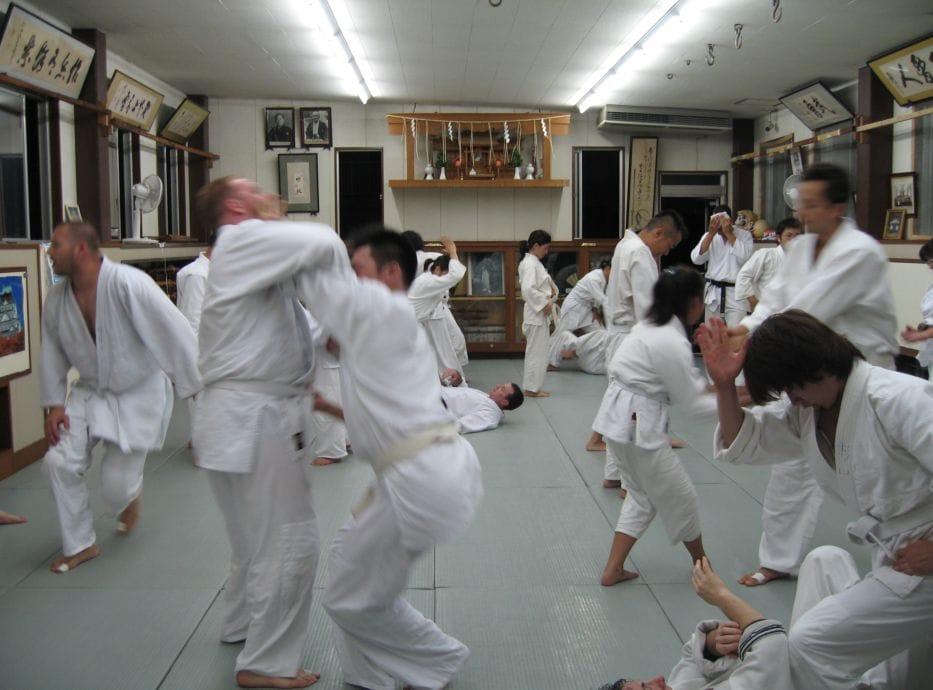 ju Jitsu.